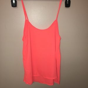 Topshop Orange Dressy Tank Size 4